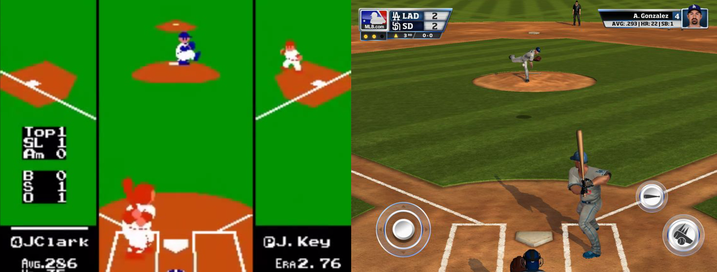 RBI Baseball: Then and Now