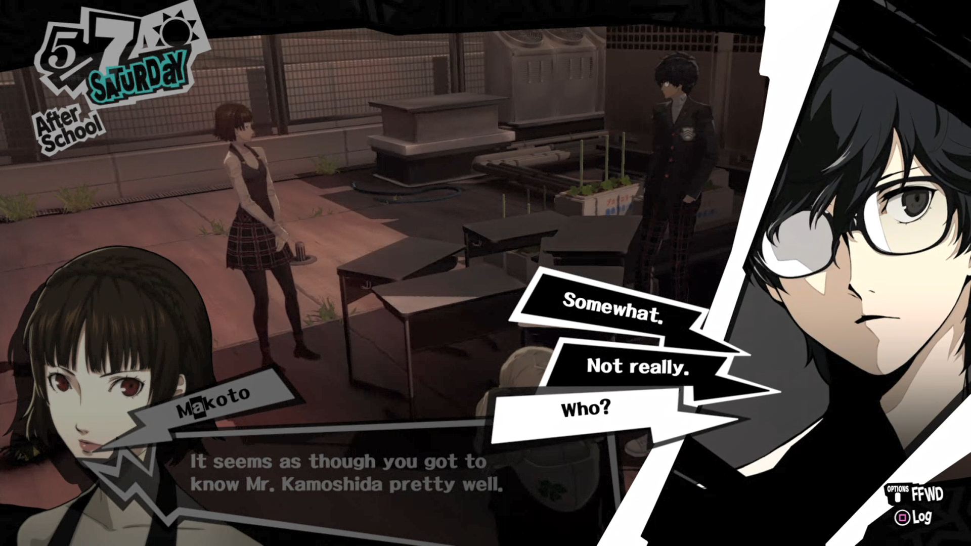 Persona 5 decision