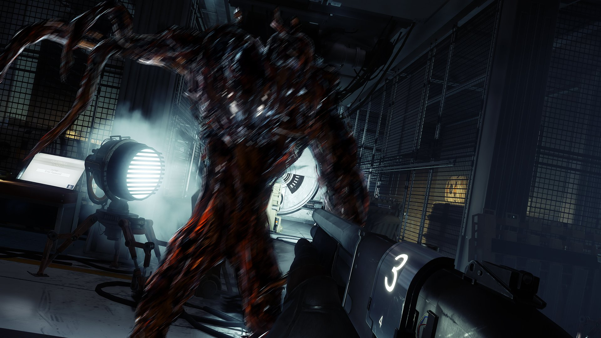 Tentacle alien monsters aren't gonna get in-between me, my shotgun, and this space mystery