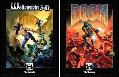 Wolfenstein and Doom