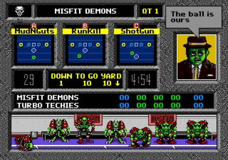 Mutant League Football Playbook