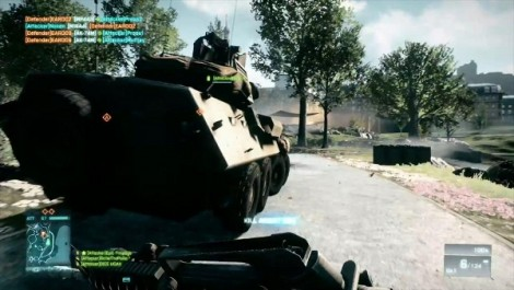 Battlefield 3 MP Vehicles