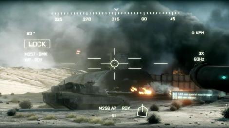 Battlefield 3 Tank