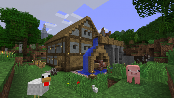 Minecraft Xbox 360 Edition | House | Going Indie | Horrible Night
