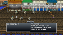 Rain-Slick 3 FF Battle