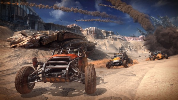 Rage's racing roots are more twisted metal than PGR.