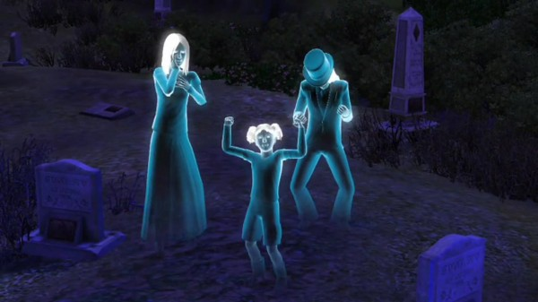Death of a Sim   Ghosts   Gaming Advocate   Horrible Night