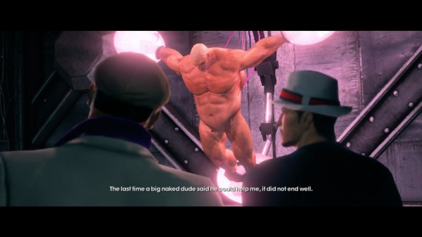 Believe it or not, this is one of the most rational, tame things I encountered in Saints Row: The Third.