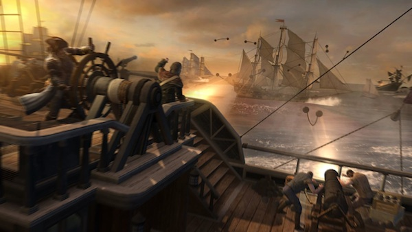Assassin's Creed III Naval battles