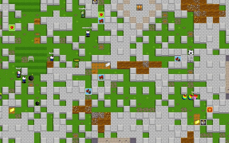 Hey! Play! Bombermine is 1,000 Player Bomberman