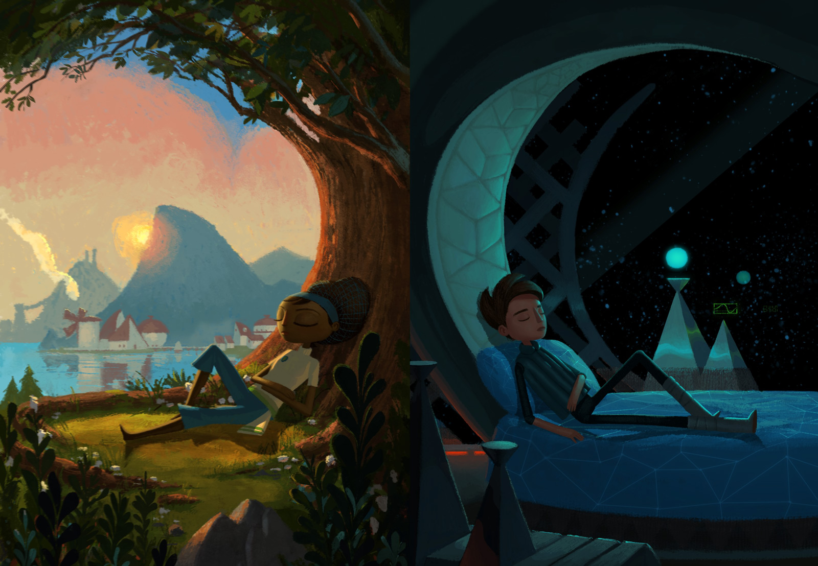 Broken Age is the Name for the Double Fine Adventure Game Funded by Kickstarter