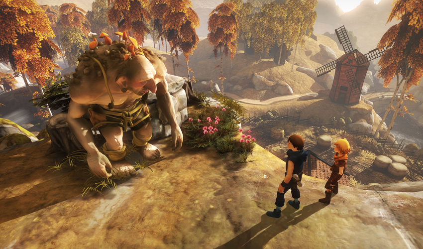 Brothers: A Tale of Two Sons is Single Player Co-Op for Your Thumbs