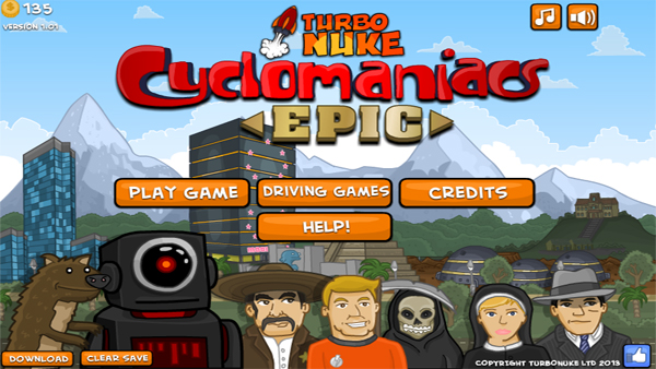 Cheap and Dirty Gamer: Cyclomaniacs Epic Will Make You a BMX Hero