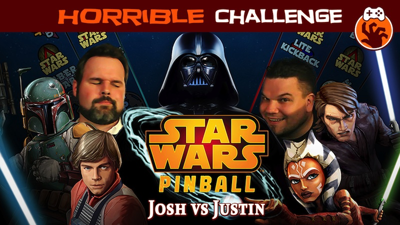 Horrible Challenge – Star Wars Pinball: Probes Are Worth a Lot of Points