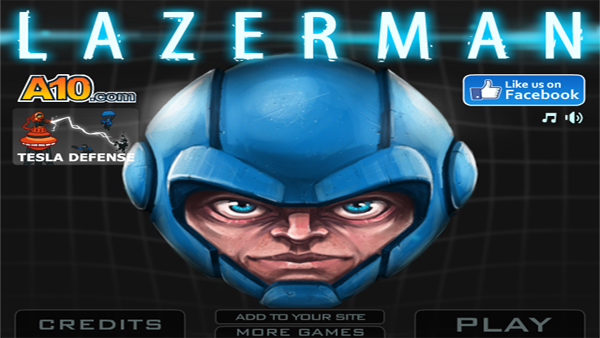 Cheap and Dirty Gamer: Lazerman has a Laser Fueled Head