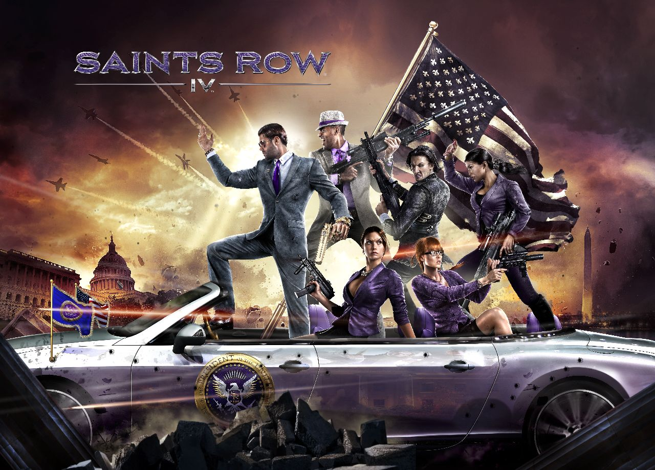 Saints Row 4 is Full of Even More Crazy Crap, Arriving in August
