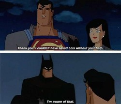 Batman, Superman, Lois. In order of hardtokilledness.