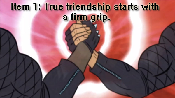 Blood Dragon Friendship