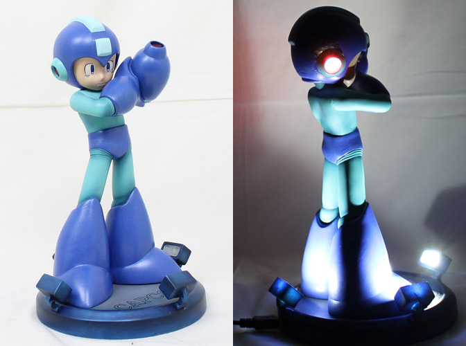 Hey! Buy! Mega Man 25th Anniversary Statue, Get Equipped Headline Pun Not Included