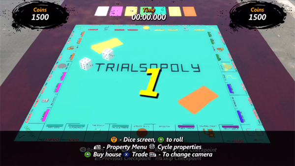 Trialsopoly is Shorthand Monopoly Made In Trials Track Editor