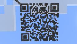 Minecraft QR