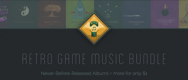 Hey! Listen! Retro Game Music Bundle with Never-Before-Released Albums