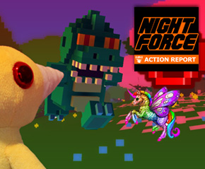 Night Force Action Report #104 – Cute Massacre