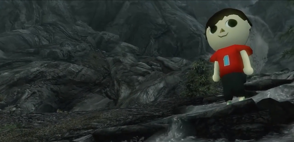 Hey! Watch! Animal Crossing's The Villager Goes Medieval in Skyrim