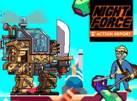 Night Force Action Report #107 – Ridiculous Returns