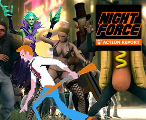 Night Force Action Report #110 – ExCon The Fourth