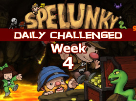 Spelunky Daily Challenged Week #4: Pup is the Real Victim Here
