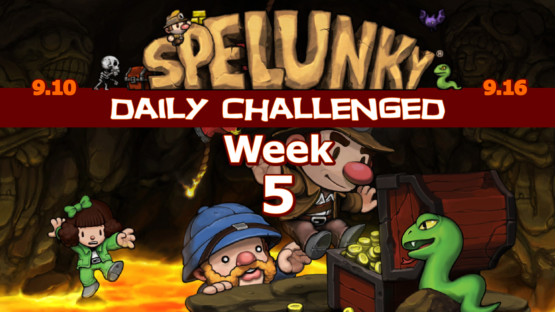 Spelunky Daily Challenged Week #5: I'm Out to Get Me