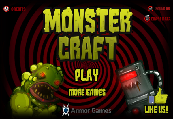 Cheap and Dirty Gamer: Monster Craft is Perfect For Lazy, Battle-Thirsty People