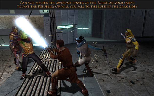 Knights of the Old Republic iOS Reflex Review: Don't Touch the Force
