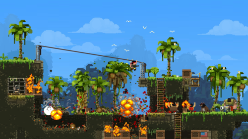 Inventory Check! Broforce Induces Brogasm, Announces Early Access Release Date