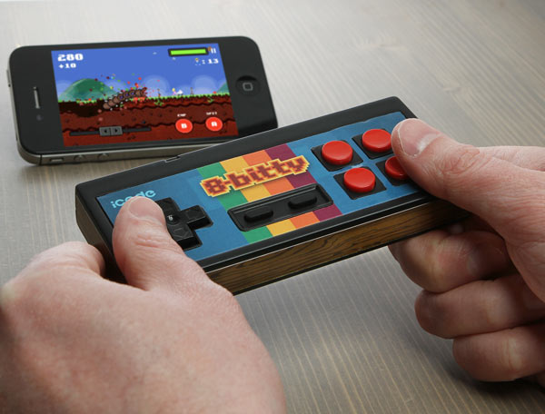 iCade 8-Bitty Bluetooth Controller Makes iOS and Android Feel More Retro