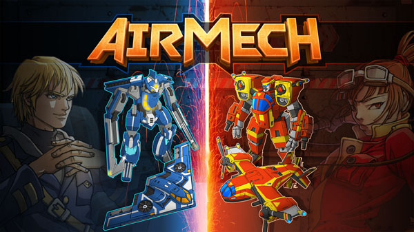 Cheap and Dirty Gamer: AirMech Briskly Back and Forth