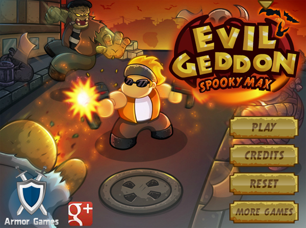 Cheap and Dirty Gamer: Evilgeddon Spooky Max Asks You to Walk Backwards and Shoot