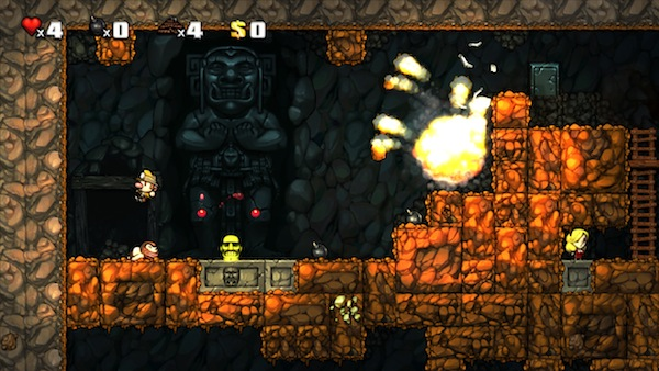 Spelunky Game Curious Video: It's All Your Fault