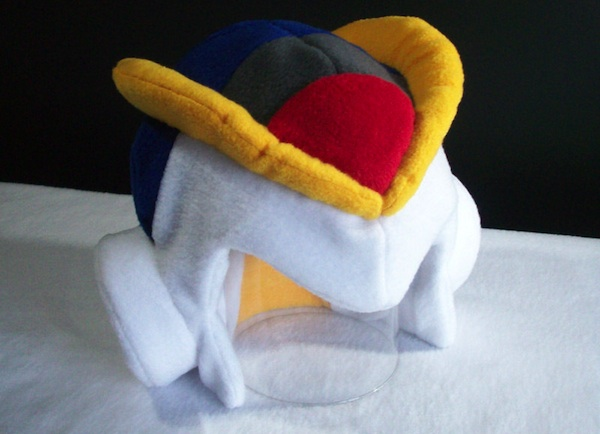 Hey! Wear! Mega Man Fleece Helmets
