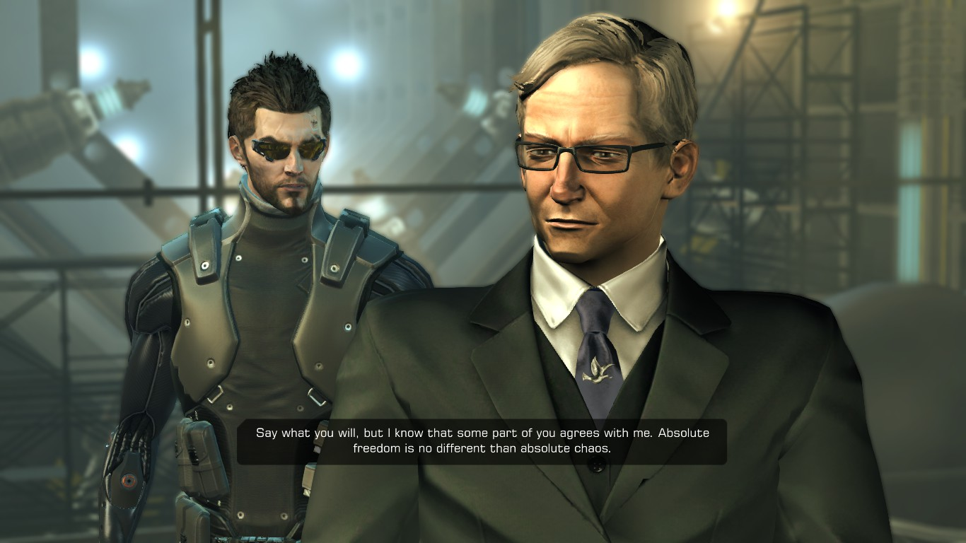 Gaming Cynic: Damn You, Deus Ex: Human Revolution