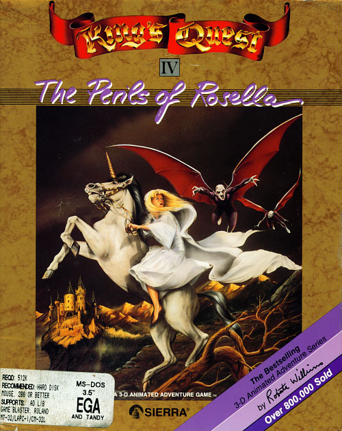 I Learned Something Today: King's Quest IV: The Perils of Rosella