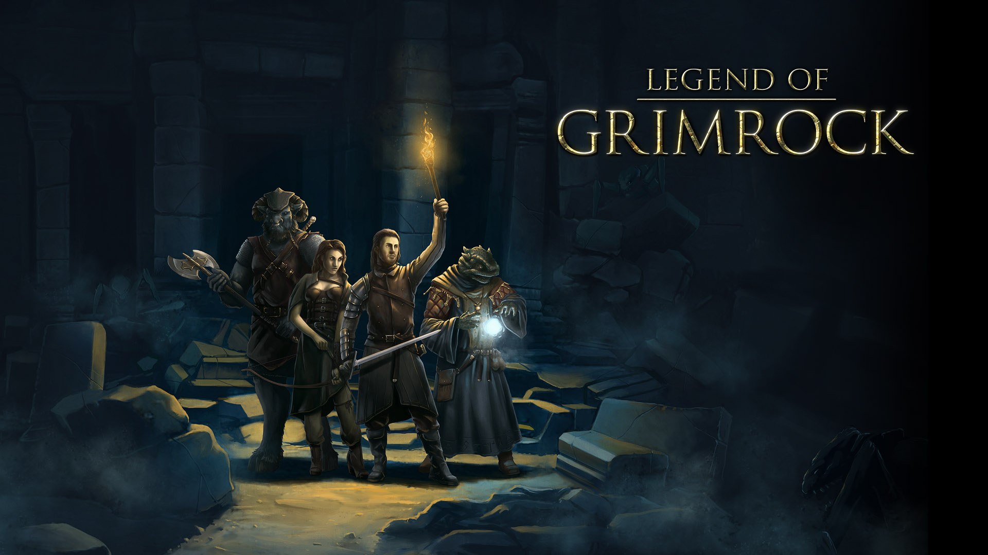 Legend of Grimrock Opens Its Dungeons on April 11th