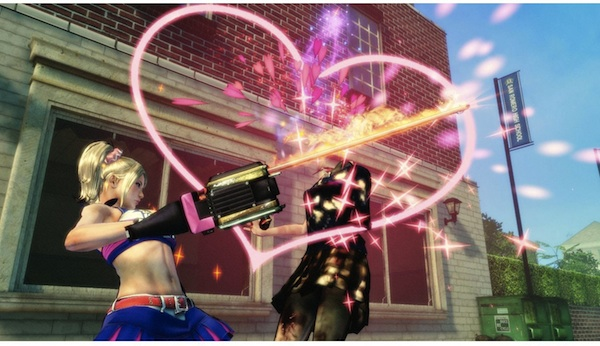 Lollipop Chainsaw Game Curious Video: Just Add Sparkles