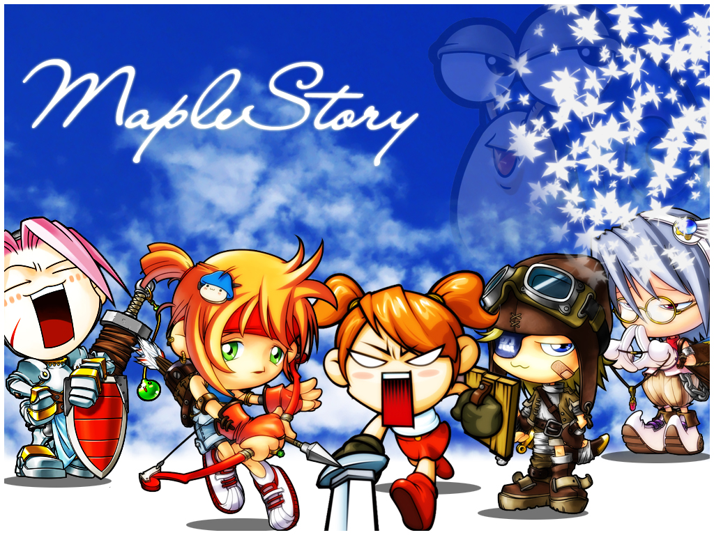 Cheap and Dirty Gamer: What the Hell is a Maple Story?