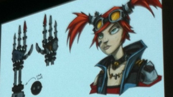 Borderlands 2 Mechromancer Class Revealed, Red Head Fanatics Unite