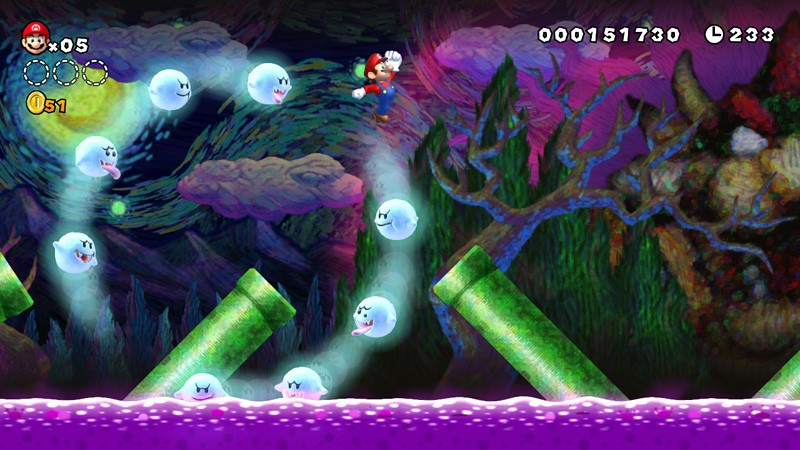 New Super Mario Bros. U Review: High Fidelity Formula