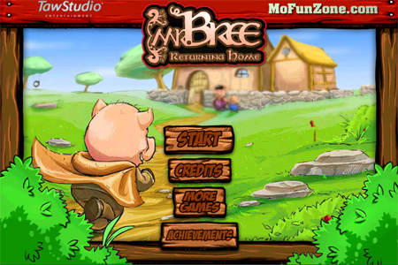 Cheap and Dirty Gamer: Mr. Bree: Returning Home Traps Talking Pigs