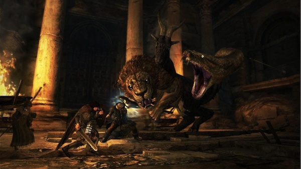 Dragon's Dogma Video Reflex Review: Jump On It, Mr. Dave