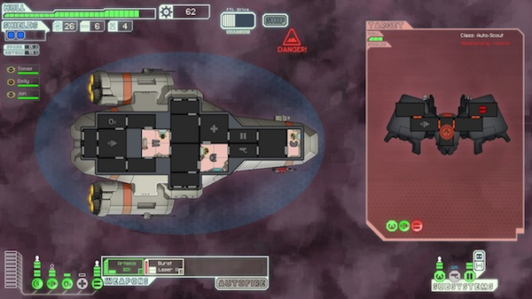 FTL Video Reflex Review: Space Love/Hate